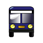Bus icon SVG by pookstar