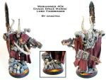Chaos Lord Harbringer Painted by chaotea