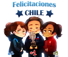 Chile campeon de America! by FlopyLopez