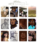 Summary of Art 2015 by Alexander-Rowe