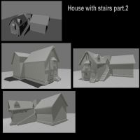 House with stairs part.2 by DennisH2010
