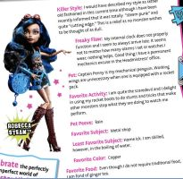 Robecca Steam Official Bio by ladygagaluvR