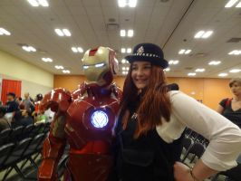 Iron Man and the Kissogram by Letmebecowgirl