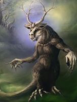 Forest Spirit by Trevor-Stephen-Smith