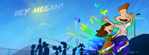 Facebook Cover - Eugene and Sheena by Aaerowyn