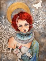 The Earl of White Rabbits by S-doll
