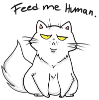 Feed me human by GothicHikage