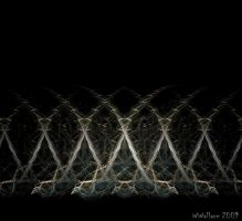 BARBED WIRE WALL by Jellaboom
