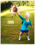 Adventure time: Fionna cosplay by Nekoshiba
