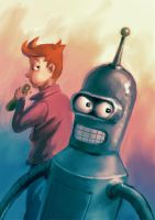 Futurama by Tohad