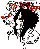 Love Is A Dream Of Death by raevynewings