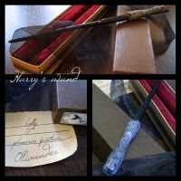 Harry's wand by ellethEsteri