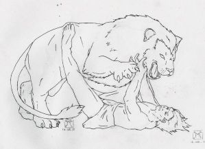 Hercule and Nemee's Lion
