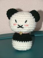Crochet Panda Plush by AiChibiAi