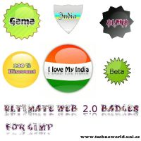 Ultimate Web 2.0 badges by SiddharthMaheshwari