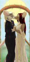 C - WallScroll - Wedding Ratts by Temrin