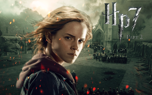 Hermione Deathly Hallows Wallpaper by smashingdaisies