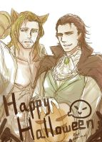 Thorki/Happy Halloween!! by Kat21741378