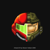 Halo VS Metroid Version 2 by Damatee