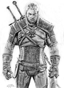 Geralt of Rivia by ScenicSarah