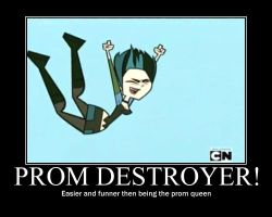 Total Drama Prom Destroyer by AbominationOfTime