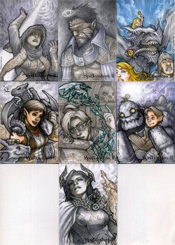 Spellcasters 2 - Set 2 by theopticnerve