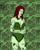 Poison Ivy Darling by Blackmoonrose13