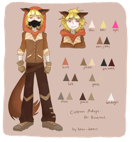 Custom Adopt: Runesoul by beartachi