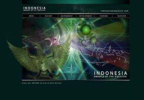 Indonesia at a glance web by ruthnella