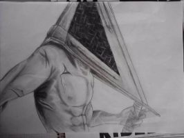 Pyramid Head. by XSoul-ArtistX