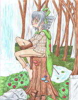 The Angel In The Woods by Chibi-tan107