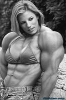 Female muscle 19 by BigDane