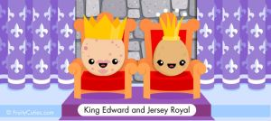 King Edward and Jersey Royal Potatoes by FruityCuties