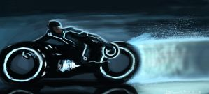 Tron Legacy in 40 mins by devowankenobi