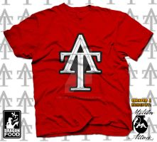 Tee-addicts Monogram  Logo Tee by motion-attack
