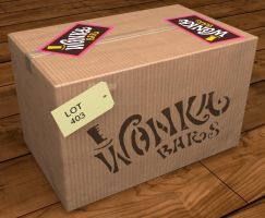 The Last Case of Wonka Bars in the UK (1971) by MikeyFTL