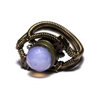 Steampunk Jewelry Ring OOAK by CatherinetteRings