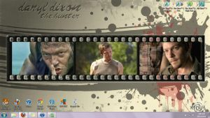 Daryl Dixon background by I-heart-werewolves