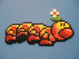 Perler Wiggler by NES--still-the-best