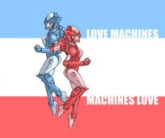 Sexy Machines of Love by jdcunard