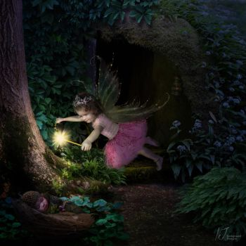 A sprinkle of fairy dust by irenejones-art