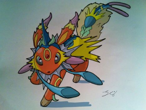 Eeveelution by grizlyjerr