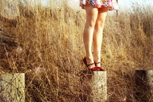 little red shoes by disco-ball