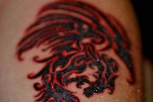 Tribal Dragon Tattoo pic 3 by Sakura-Koi