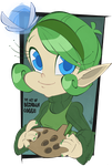Favorite Nintendo Girls - Saria by BrendanCorris