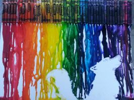 Crayon art by LunaEclipse17