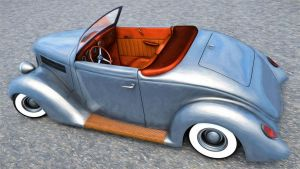 1936 Ford Roadster by SamCurry