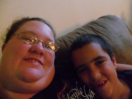 Day 108: Me and Alex by Caedy