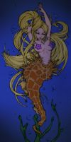 Sabelle The Seahorse Mermaid by Danerboots