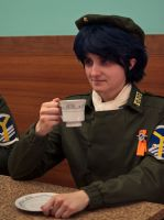 Tea with the Dictator by august-fehrmont